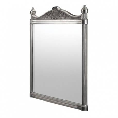 Зеркало Georgian Burlington с рамой из полированного алюминия T37ALU