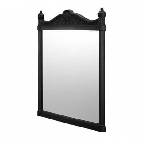 Зеркало Georgian Burlington с рамой из черного алюминия T47BLA  Размер: 55*75 см.