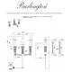 Burlington KE12 смеситель для раковины