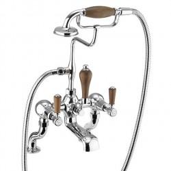 Смеситель для ванны с ручным душем, набортный [KE15 WAL]